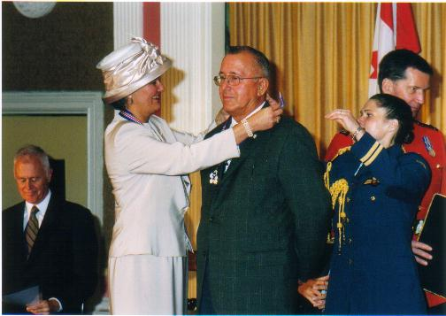 Daniel N. Paul - Receiving O.N.S. Medal