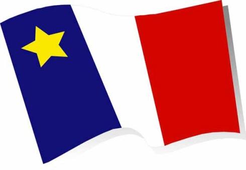 Acadien Flag