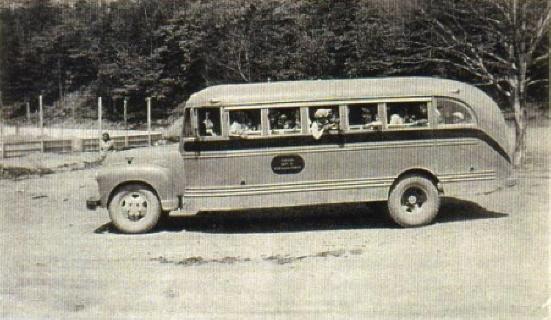 Eskasoni School Bus - 1947