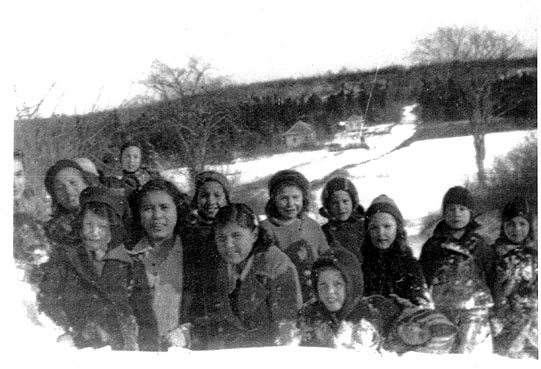 Indian Brook Children 1939