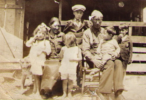 John Knockwood and Family