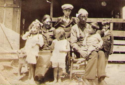 John Knockwood and Family