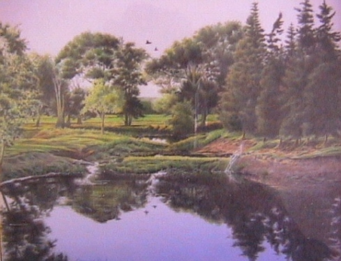 Leonard Paul - Peaceful Pond