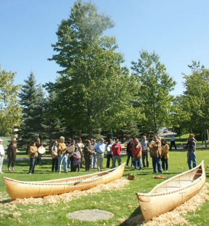 Madawaska Maliseet Canoe