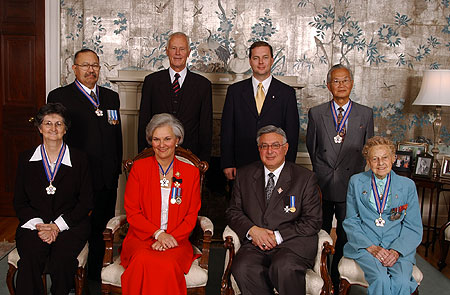 Order Of Nova Scotia Recipients - 2004
